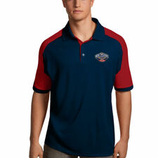 New Orleans Pelicans Antigua Century Performance Polo - Navy/Red - NBA