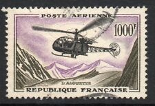 France: 1957 Airmail Fr. 1000 SG 1320 used