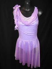 NEW!   STUNNING COMPETITION DANCE LYRICAL BALLET COSTUME ~ SA