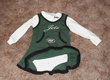 New York Jets Cheerleading Outfit 2 Piece NWOT Sz  18 mos , 2T