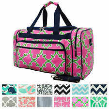 "23"" Duffle Gym Bag Sports Carry On Travel Tote Kids Boys Girls Teen Cheer Dance"