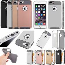 For Apple iPhone 7 & 7 PLUS NEST HYBRID HARD Case Rubber Cover +Screen Protector