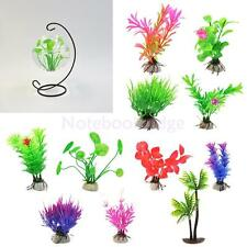 Artificial Aquatic Water Grass Plastic Plant Coral Aquarium Fish Tank DIY Decor
