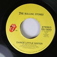 THE ROLLING STONES 45 RPM DANCE LITTLE SISTER / AIN'T TOO PROUD TO BEG, THE ROLL