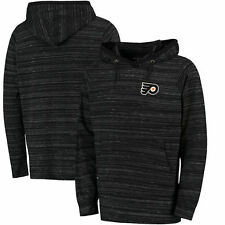 Philadelphia Flyers Antigua Team Lightweight Pullover Hoodie - Black - NHL