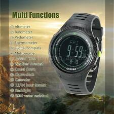SPOVAN 5ATM Sports Watch Altimeter Barometer Thermometer Digital Compass C2I9