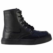 TUK Womens Kitty Fashion Trainers Hi Tops Boots Lace Up Ankle High Casual Shoes