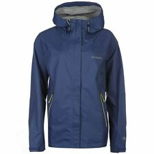 Columbia Womens Rain 2.5 Jacket Waterproof Breathable Lightweight Full Zip Top