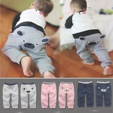 New bear Toddler Infant Newborn kids baby Girls Boys Warm winter pants trousers