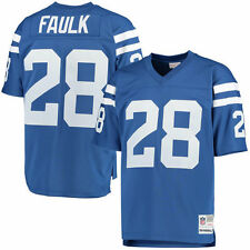 Marshall Faulk Mitchell & Ness Indianapolis Colts Football Jersey - NFL