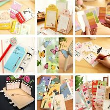 Cute Sticker Post Bookmark Point Marker Memo Flags Index Tab Sticky Notes Office