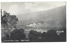 BLAIR ATHOLL WW1 Scottish Horse Camp, Old Postcard Unused
