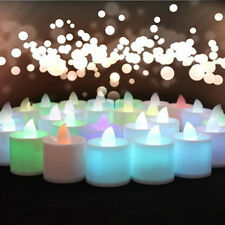 LED Party Wedding Valentine Gift Propose Flameless Light Tea Romantic Candle
