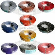 10M 1-pin Cable 18AWG 20AWG 22AWG 24AWG 26AWG 28AWG Hook-up UL-1007 Wire Strip