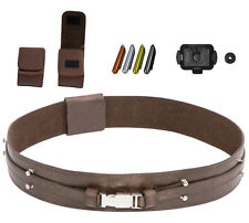 Star Wars Belt Brown, Pouches Food Caps Covertec for a Windu Costume - from UK