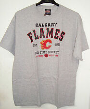 OLD TIME HOCKEY NHL CALGARY FLAMES ARCHER T-SHIRT BRAND NEW
