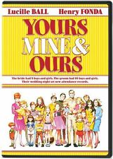 YOURS MINE AND OURS NEW DVD