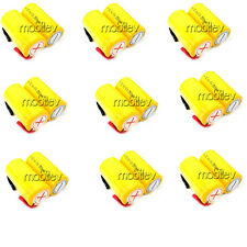 18 x SubC Sub C NiCd 2500mAh Rechargeable Battery Tab Y