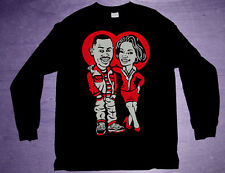 New 11 air bred Long Sleeve Martin shirt  jordan xi cajmear low tv show M L XL