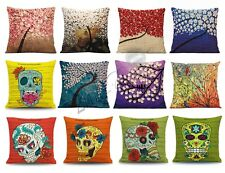 "Fashion linen Throw Pillow Cases Home Decorative Cushion Cover Square 18""x18"""