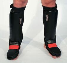 Caged Steel CS1 MMA Shin & Foot Guards Pads RRP £44.99