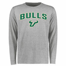 South Florida Bulls Proud Mascot Long Sleeve T-Shirt - Ash - College