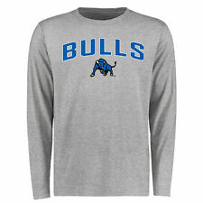 Buffalo Bulls Proud Mascot Long Sleeve T-Shirt - Ash - College
