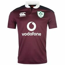 Canterbury Mens IRFU Away Pro Rugby 2016 2017 Jersey Quick Drying Short Sleeve