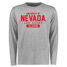 UNLV Rebels Basic Alumni Long Sleeve T-Shirt - Ash - College
