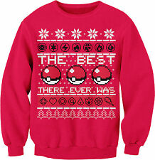The Best There Ever Was - Ugly Christmas Sweater Style - SWEAT SHIRT