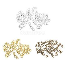 50x Lobster Claw Clasps for Necklace Bracelet DIY Jewelry Fastener Hook
