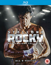 ROCKY - THE COMPLETE SAGA (6 TITLES) (UK) NEW BLURAY
