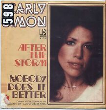 """CARLY SIMON - After the storm - VINYL 7"""" 45 LP ITALY 1975 VG+ /VG- CONDITION"""
