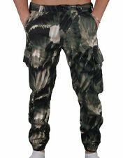 Staple Olive Feather Camo Cargo Jogger Jeans Pants 1509B2905 NWT