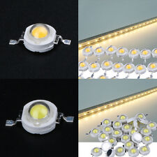 100pcs SMD 1W Cool White Warm White High Power Led Lamp Beads 1 Watt Led Chip
