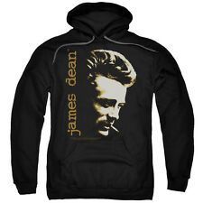 James Dean Icon Movie Actor Smoke Adult Pull-Over Hoodie