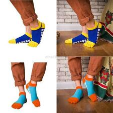 1 Pair Mens Cotton Five Finger Toe Casual Fashion Ankle Sports Low Cut Socks