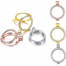 Three Colour 35mm Coin Holder Crystasl  Mi Frame Necklace Pendant for My Coin