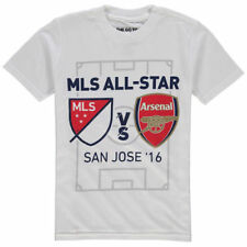 Youth 2016 MLS All-Star Game All Stripes T-Shirt - White