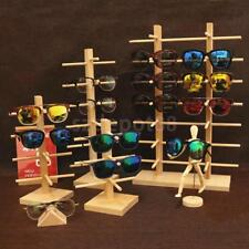 Wooden Sunglass Eye Glass Display Rack Stand Holder Organizer 3/4/5/6 Layers