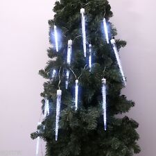 208 LED Fairy Icicle String Lights For Wedding Party Xmas Christmas Outdoor 4.5M