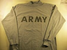 Army Physical Fitness Long Sleeve Shirt Uniform, PT IPFU, Military Issue