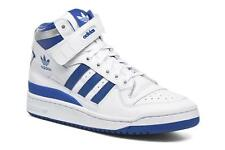 Men's Adidas Originals Forum Mid Refined Hi-top Trainers in White