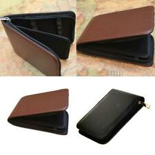 Soft Pen Pouch/Cases Black/Coffee Leather for 12/48 Pens Holder Handmade Pouch