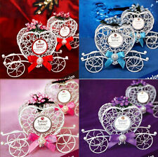 Candy Cinderella 1pc Birthday Party Wedding Favours Carriage Chocolate Boxes New