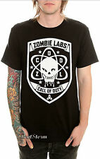 NEW CALL OF DUTY VIDEO GAME SKULL ZOMBIE LABS Tee Shirt Black T Men's XL & 2X