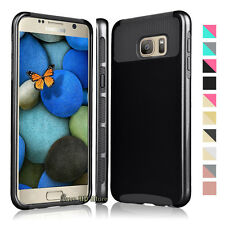 Hybrid Shockproof Rugged Rubber Hard Case Cover For Samsung Galaxy S7 / S7 Edge
