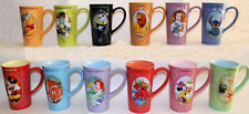 "NEW Disney Store Zodiac Astrology Coffee Tea Latte MUG YOU CHOOSE 16oz 6"" tall"
