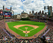 Comerica Park Detroit Tigers MLB Licensed Fine Art Prints (Select Photo & Size)