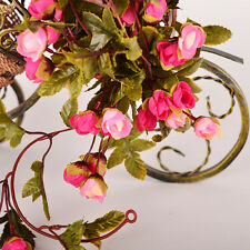 Craft Fake Rose Flower Artificial Vine Hanging Decor Garland Home Wedding Party